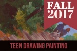 2017 Fall Teen Drawing and Painting Class