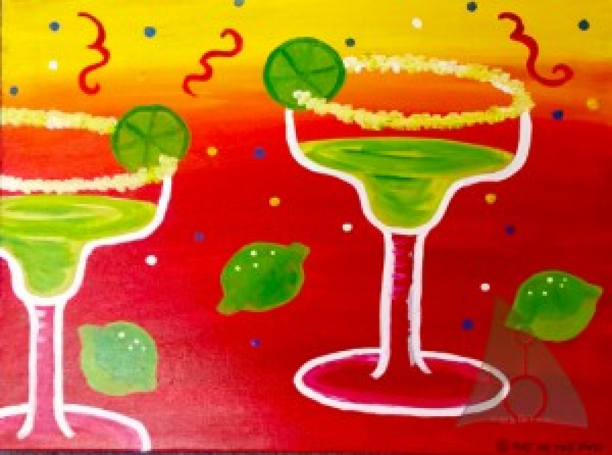 Margarita Paint and Sip