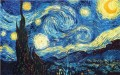 Open BYOB Painting - Starry Night Inspired By Vincent Van Gogh